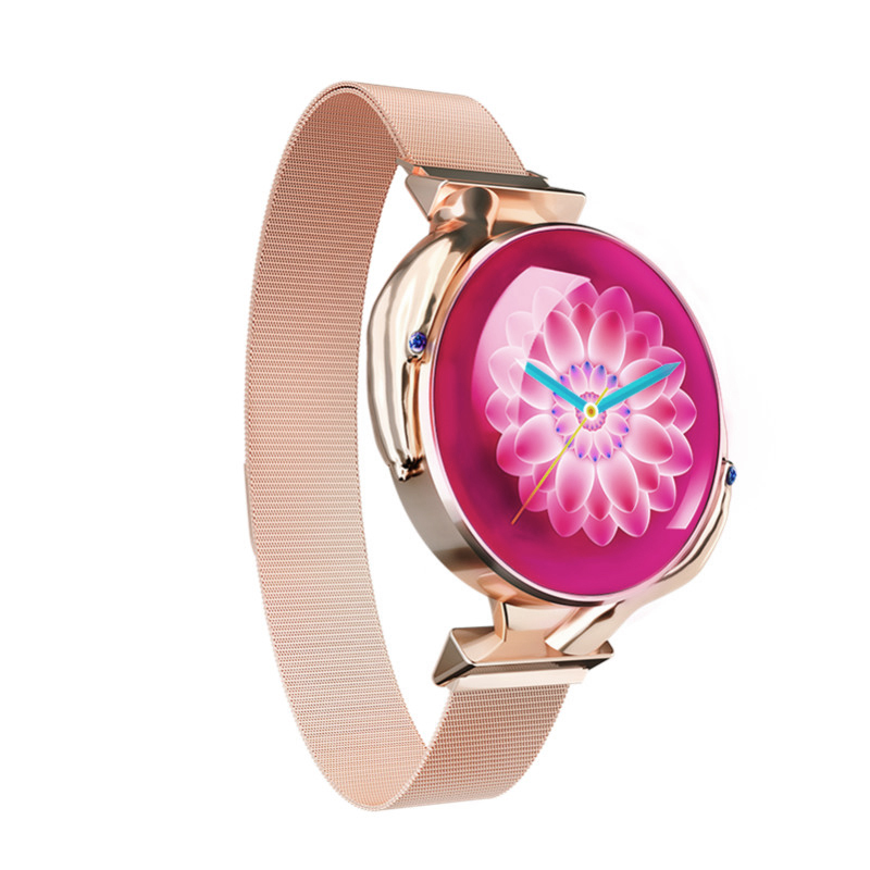 Fashion Smart Bracelet Female Z38 Racket Screen Waterproof Detection Blood Pressure Heart Rate Physiological Period Smart Watch