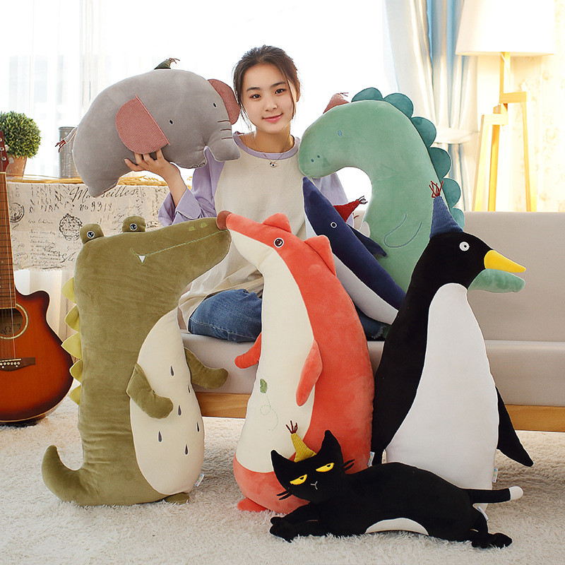 Nordic INS Forest Animals Decoration Baby Kids Tent Baby Bed Decor Pure Plush Crib Bumper Protector Infant Room Decor