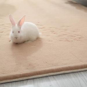 Bedside Carpets Bedroom Faux-Fur Living-Room Plush Large Kids Shaggy Home Super-Soft