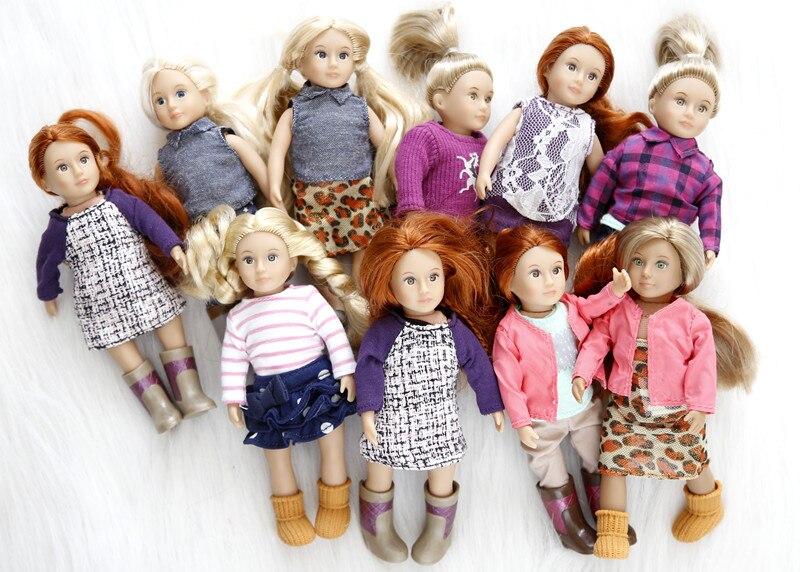 308.04грн. |15 см мини Детская кукла, игровой домик, кукла, игрушка, Детская Коллекция подарков на день рождения|Куклы| |  - AliExpress