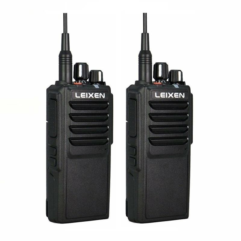 2pcs LEIXEN VV-25 Walkie Talkie 25W Ham Radio Amador 12.6V 4000mAh Battery Walky Talky Professional Vhf Marine Radio Comunicador