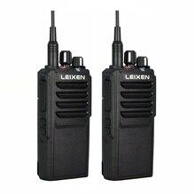 2Pcs LEIXEN VV 25 Walkie Talkie 25วัตต์วิทยุAmador 12.6V 4000MAhแบตเตอรี่Walky Talky UhfระดับมืออาชีพmarineวิทยุComunicador