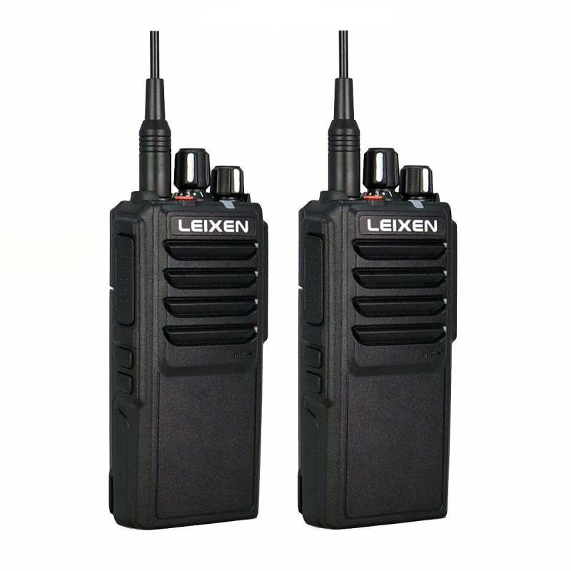 2pcs LEIXEN VV-25 Walkie Talkie 25W Ham Radio Amador 12.6V 4000mAh Battery Walky Talky Professional Uhf Marine Radio Comunicador