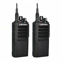 2pcs LEIXEN VV 25 Walkie Talkie 25W Ham Radio Amador 12.6V 4000mAh Battery Walky Talky Professional Uhf Marine Radio Comunicador