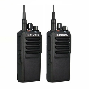 Image 1 - 2pcs LEIXEN VV 25 Walkie Talkie 25W Ham Radio Amador 12.6V 4000mAh Battery Walky Talky Professional Uhf Marine Radio Comunicador