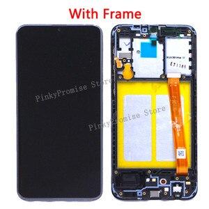 Image 3 - Samsung Galaxy A20e A202 A202F A202DS ekran dokunmatik ekran Digitizer meclisi A202 A202F/DS SAMSUNG A20e LCD