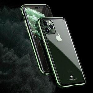 Image 5 - Original BOBYT Metall Fall Für Apple iPhone 11 Pro Max Klar Gehärtetem Glas & Aluminium Stoßstange Fall Abdeckung Für iPhone 11/ Pro/ Max