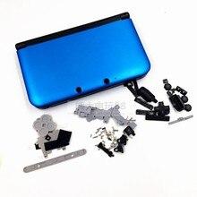 เปลี่ยน SHELL สำหรับ Nintendo 3DS XL ที่อยู่อาศัย/กรณีสำหรับ 3DS LL สีดำ,เงิน,สีฟ้า,สีแดง,Mar IO สีแดง,Mar IO SILVER