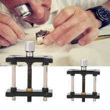 2 pçs/set Titular Movimento Do Relógio Relógio de Plástico Multi-Função de Base Fixa Braçadeira Ferramenta Fabricação de Jóias Kit de Reparação para Relojoeiro