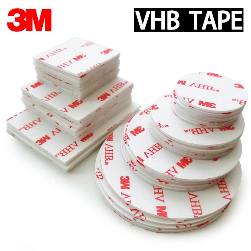 Double-Sided Adhesive Tape VHB 3M Acrylic Foam Strong Adhesive Patch Waterproof No Trace High Temperature Resistance