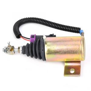 Image 4 - 12V Kraftstoff Abgeschaltet Stop Magnetventil XHF 1121 E483310000093 Fit für Foton 483 Abgeschaltet Magnet