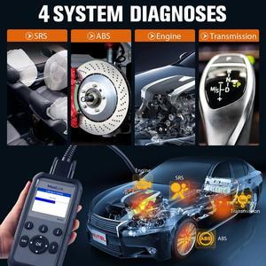 Image 2 - Autel ML629 Maxi Link Diagnose Werkzeug Auto OBD2 Scanner Code Reader ABS Airbag Code Reader Upgrade Autel ML619 AL619