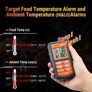 Image 4 - ThermoPro TP 08S termómetro de cocina inalámbrico remoto para alimentos BBQ remoto, ahumador, parrilla, horno, carne monitoriza alimentos a partir de 300 pies de distancia