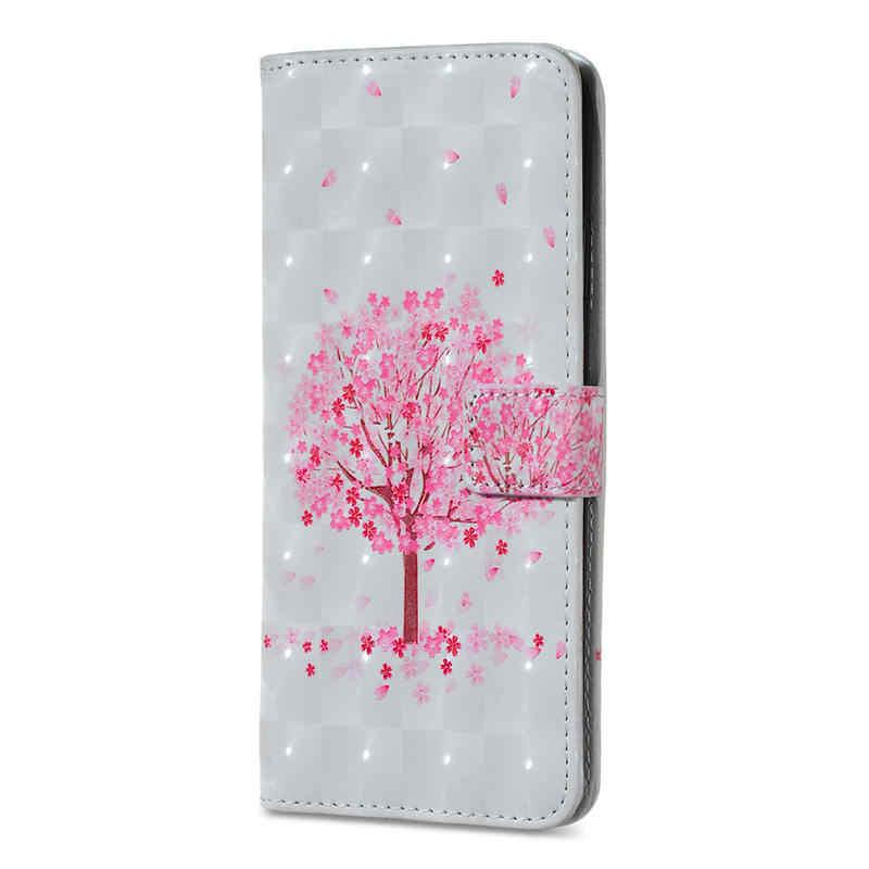 ארנק Flip טלפון מקרה עבור iPhone 7 8 בתוספת 6 6s בתוספת X XR XS 11 פרו מקסימום כיסוי עבור iPhone 5 5S SE עם כרטיס חריץ Etui 3D הבלטה
