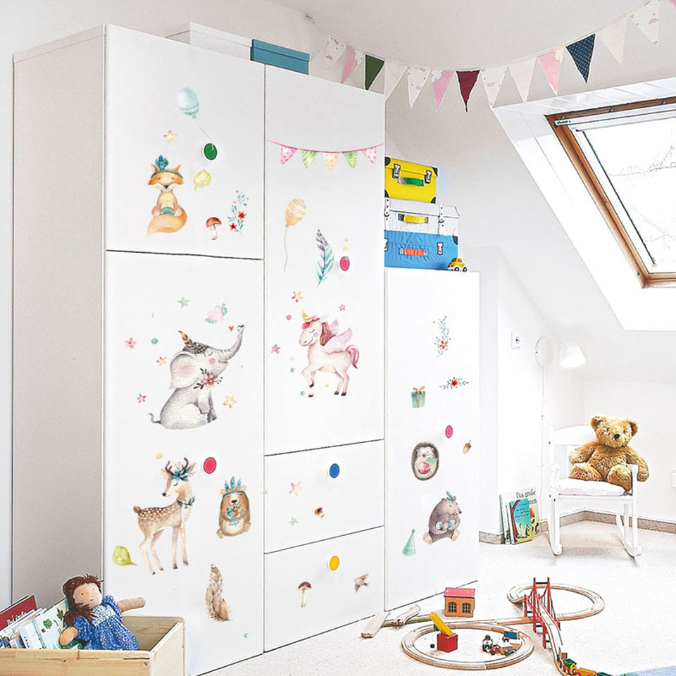Unicorn Wall Stickers For GIrl Room