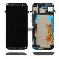 LCD probado Original para pantalla LCD HTC One M8s + montaje de cristal del digitalizador táctil + piezas de repuesto del marco
