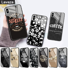 WEBBEDEPP coffe make life better Glass Phone Case for Apple iPhone 11 Pro X XS Max 6 6S 7 8 Plus 5 5S SE