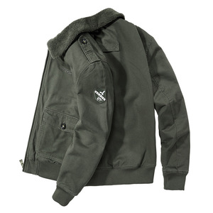 Image 5 - BOLUBAO גברים בסגנון צבאי מעילי חורף מותג בתוספת קטיפה עיבוי גברים של מעיל חדש זכר אופנה נוח מעיל מעילים