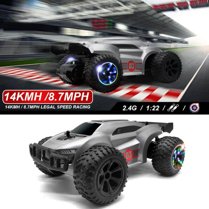 RC Cars Toy New 2.4G remote control high-speed four-wheel drifting SUV children's educational remote control toys Kids Xmas Gift