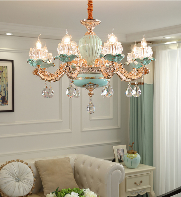 8 heads chandelier