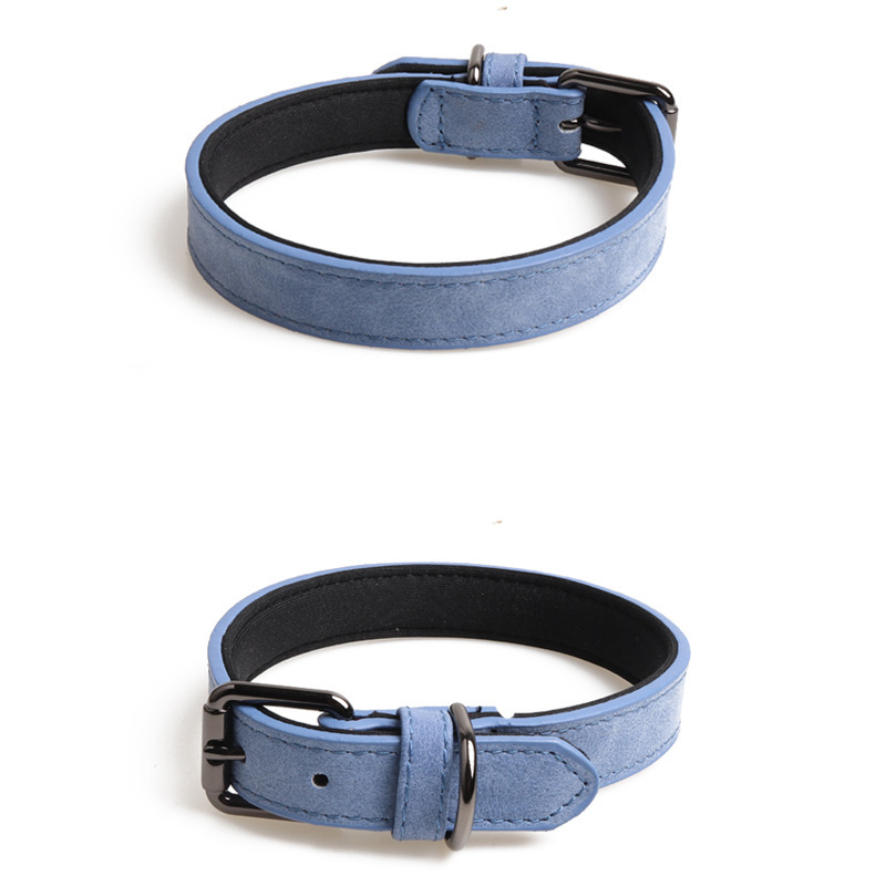 Jin Jie Te New Products Pet Collar Double Layer Pu Gou Neck Ring Protection Dog Neck