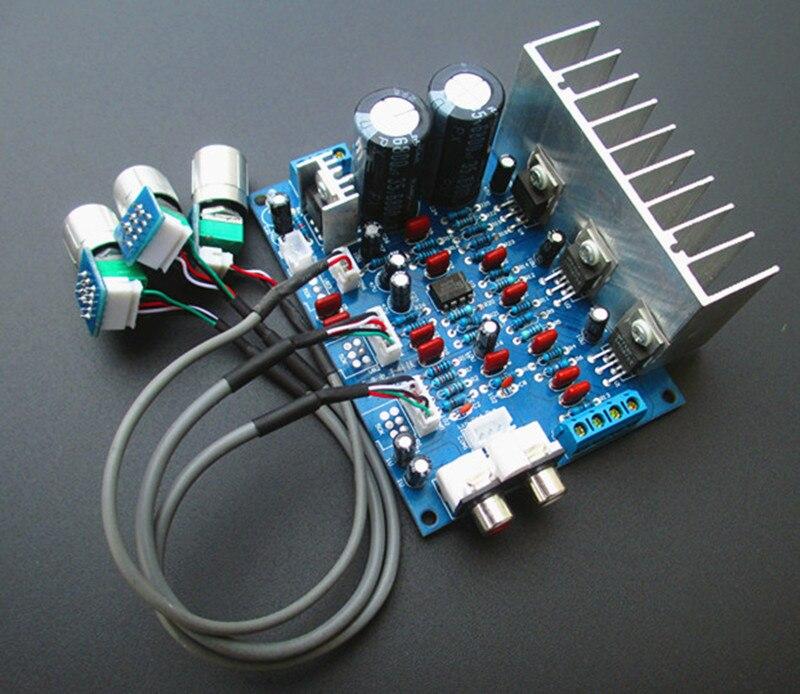 LM1875T + NE5532N 25 Вт * 2 + 40 Вт компьютерный динамик Настольный 2,1 канал Аудио Усилитель мощности доска Усилители мощности      АлиЭкспресс