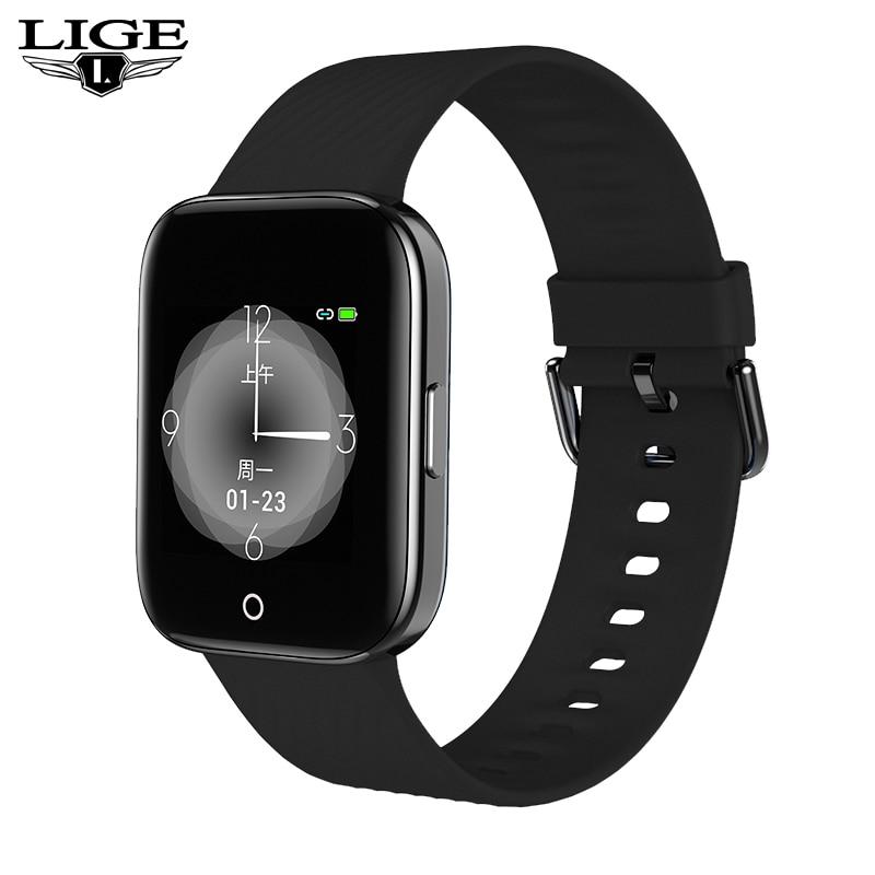 2019 nouvelle couleur OLED montre intelligente hommes femmes pour iPhone fréquence cardiaque pression artérielle fitness tracker IP68 étanche sport smartwatch