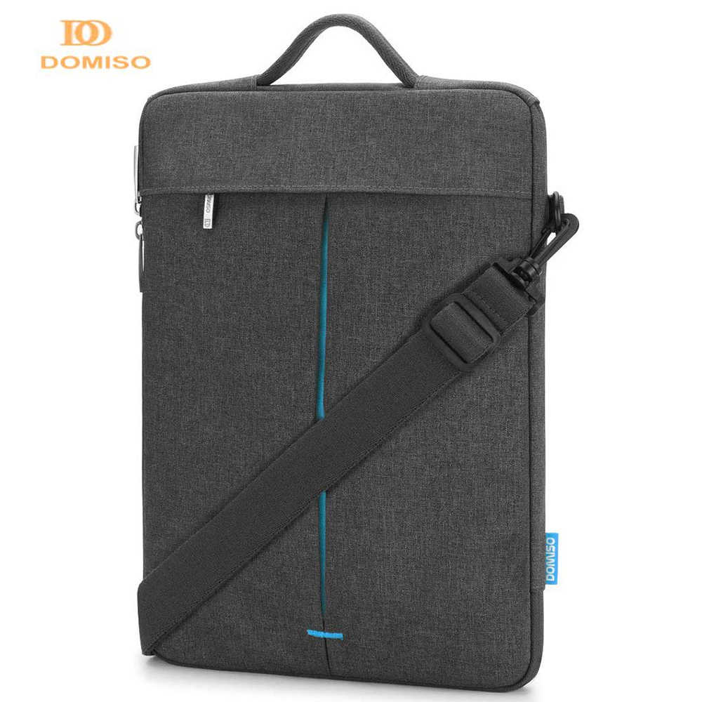 """DOMISO موضة متعددة الاستخدام حزام محمول كم حقيبة مع مقبض ل 11 """"13"""" 14 """"بوصة ماك بوك اير/ديل حقيبة الكمبيوتر المحمول"""
