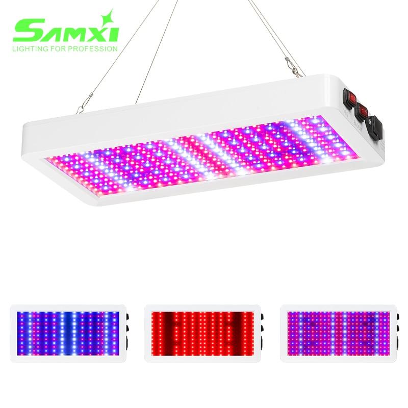 Светодиодный Grow Светильник 3000W Фито лампа для выращивания растений с питанием от источника 265V Phytolamp полный спектр 5730 светодиодный чип лампа ...