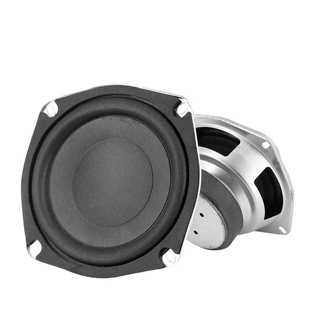 LEORY New Upgrade 5 inch 50W 8 ohm Magnetic Speakers High Sensitivity Super Bass Subwoofer Car Speaker Horn Accessories