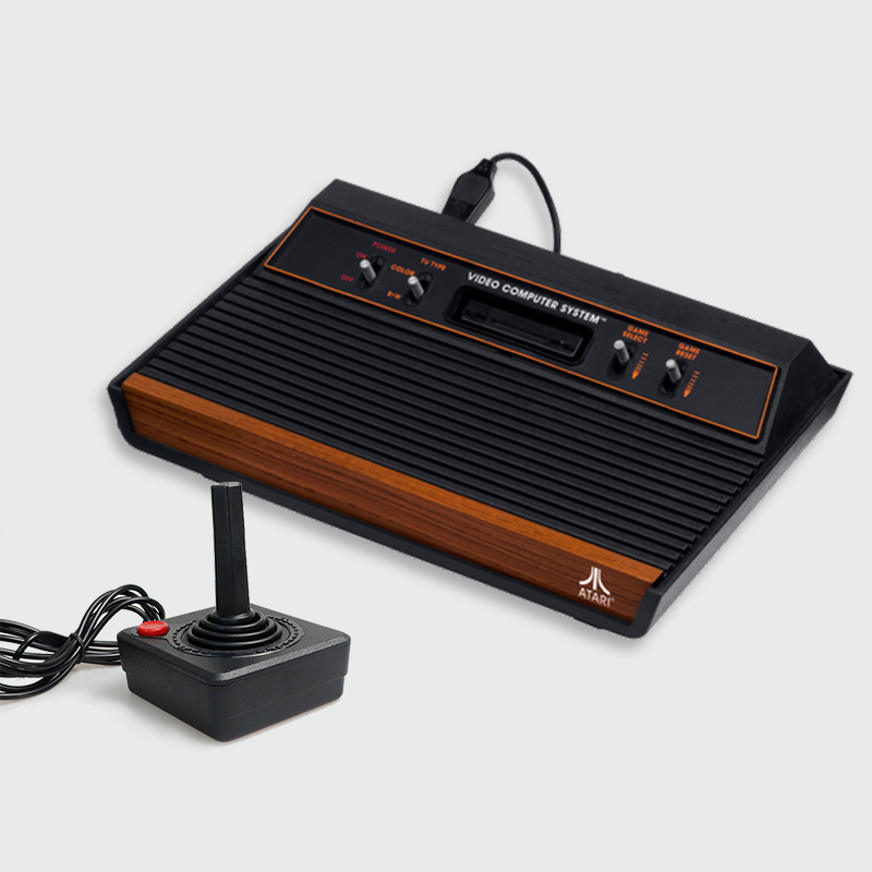 Upgraded 1.5M Gaming Joystick Controller For Atari 2600 Game Rocker With 4-way Lever And Single Action Button Retro Gamepad