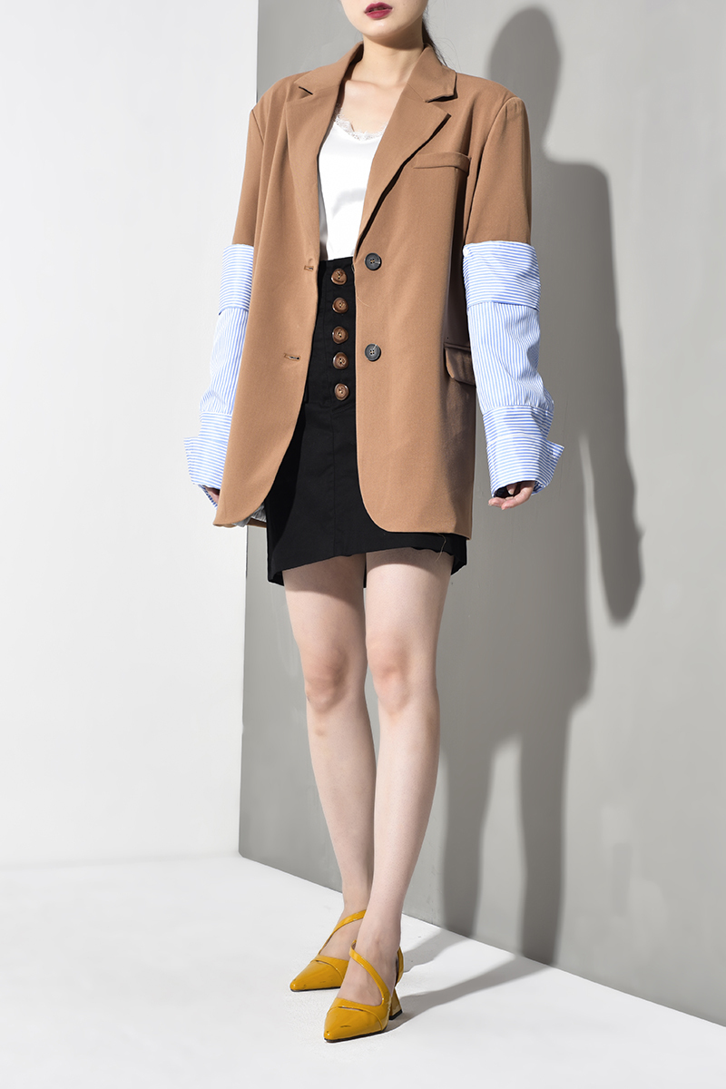 Jacket EAM Fashion Lapel 11
