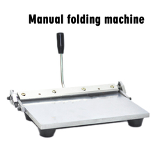 Manual bending machine  12 inches use of wallet and handbag leather factory