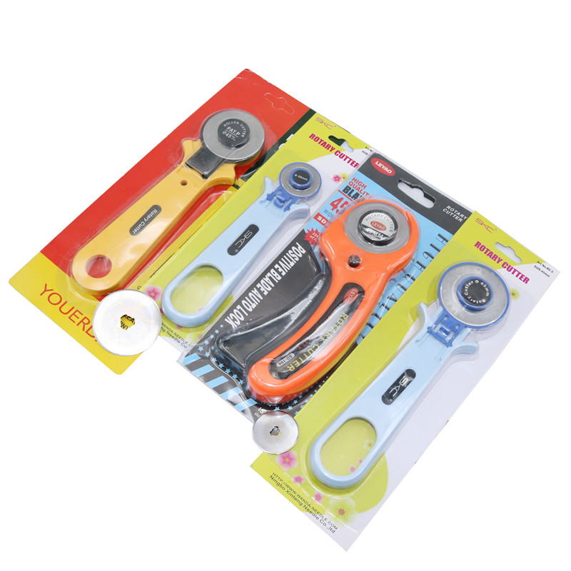 Wheel Cutter 1 Pcs/blade 10 Pcs Rotary Cutter Patchwork Roller Cutter Wheel Round Knife Cloth Knife Leather Craft Fabrics Cutter