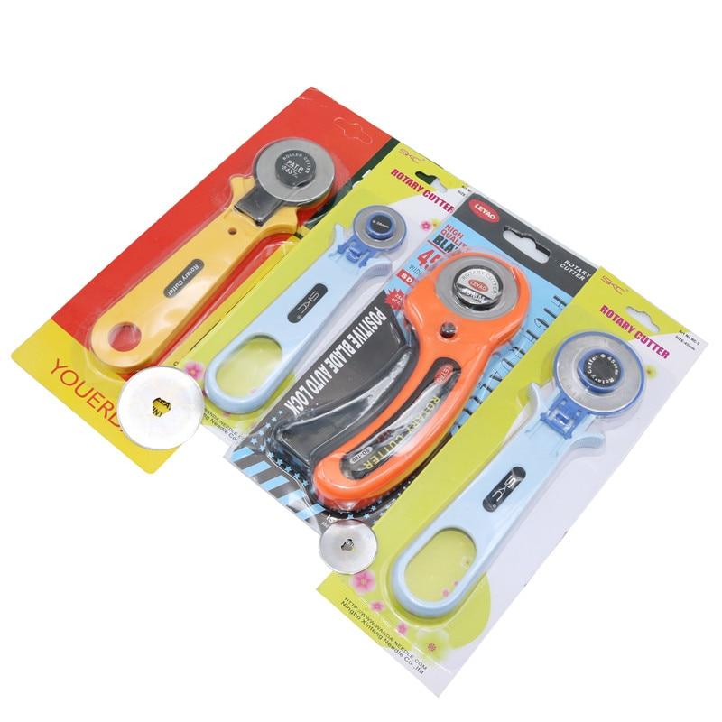 Wheel Cutter 1 Pcs/blade 10 Pcs Rotary Cutter Patchwork Roller Cutter Wheel Round Knife Cloth Knife Leather Craft Fabrics Cutter
