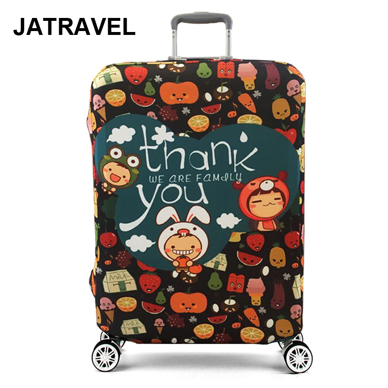 JATRAVEL Fruit Elastic Thick Luggage Cover For Trunk Case Apply To 18''-32'' Suitcase,Suitcase Cover Travel Accessories