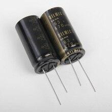 2 adet tayland yeni ELNA RFS SILMIC II 63V470UF 18X35MM SILMICII 470UF 63V sıcak satış 470 uf/63 v RFS 63V471MK8
