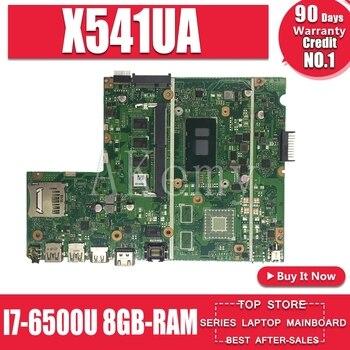 Laptop motherboard for ASUS X541U X541UVK X541UAK X541UA X541UV X541UJ mainboard Test OK w/ I7-6500U CPU 8GB-RAM