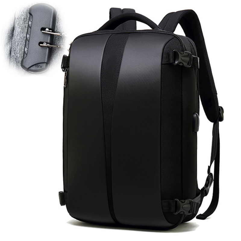 Anti Theft Backpack 17 Inch Laptop Bagpack Women Men Bags Anti-theft Back Pack USB Charger Male Black Travel Waterproof Mochila