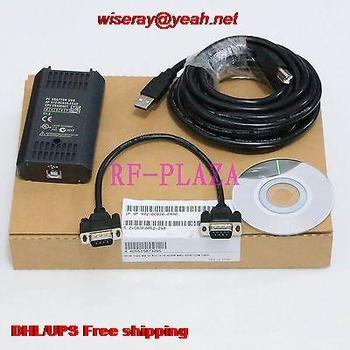 DHL/EMS 5pcs Programming cable 6ES7972-0CB20-0XA0 for  S7-200/300/400 PLC win8 RS485-A5
