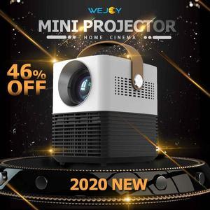 Wejoy L6 HD Mini ProjectorReal Портативный 1080P с высоким разрешением яркость домашний кинотеатр VGA/HDMI/USB/аудио функция