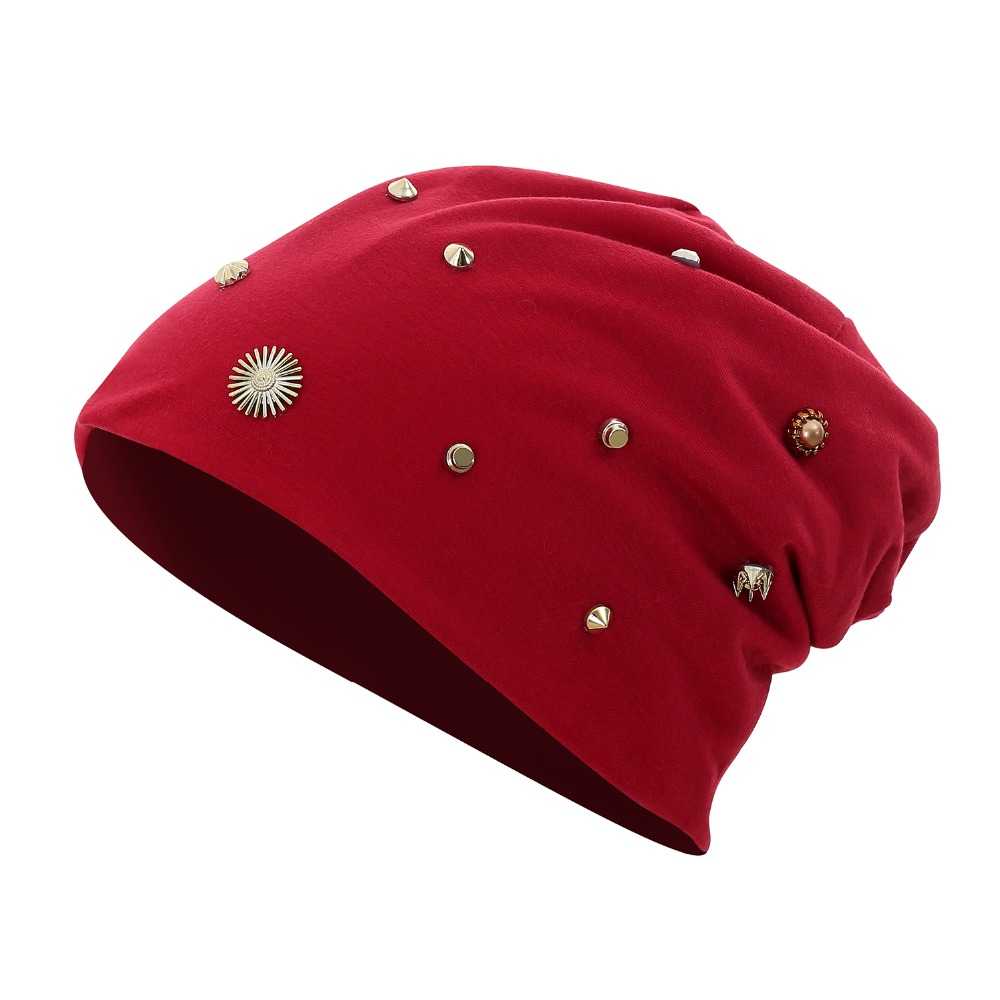 Winter   beanies   for women autumn hats for men thin   beanie   hip hop cap unisex knitted hat female male bone soft black print