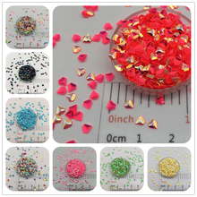 30g/Lot 3mm 3D Diamond Loose Sequins Glitter Paillettes For DIY Nail Craft,Slime Making, Wedding Decoration confetti Wholesale(China)