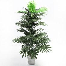 Palmier Tropical de 90cm, grandes plantes artificielles, faux Monstera, feuilles de palmier en soie, grand cocotier sans Pot pour décoration de jardin de maison