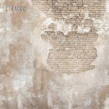 Laeacco – arrière-plan mural en brique de ciment, couleur unie, pour photographie de Portrait Grunge, arrière-plan pour photographie de nouveau-né, Studio Photo