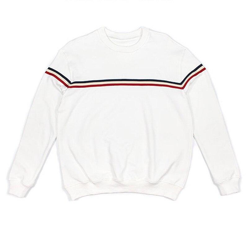 Crewneck Sweatshirt Women Aesthetic USA Vintage Cute White Fleece Baggy Sweaters Teen Girls Oversized