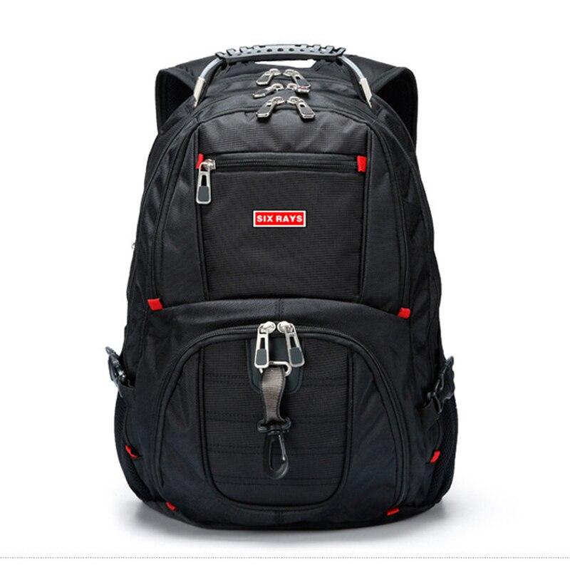 Image 3 - Brand Swiss Laptop 15.6 Backpack External USB Charge Swiss  Computer Backpacks Anti theft Backpack Waterproof Bags for Men  WomenBackpacks