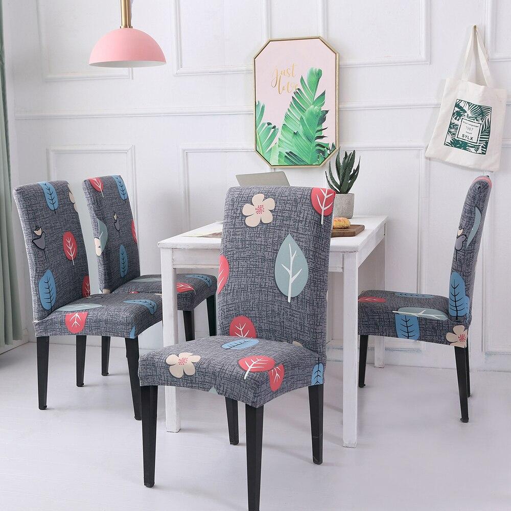 Christmas Chair Covers Spandex Pattern Hotel Banquet Wedding Chair Cover Housse de Chaise fundas para sillas