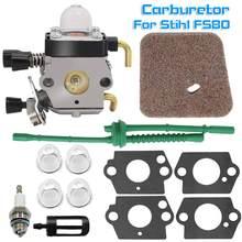 Carburateur pour Stihl FS80, FC55, FC75, FC85, FS310, FS38, FS45, FS45C, FS45L, FS46, FS55, FS55RC, FS55T, FS74, FS75, FS76