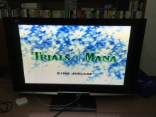16Bit Games ** Trials of mana 48Mb offcial Uncut version ( PAL French Version!! French Language!! )